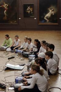 écoute en musée au festival Longueur d'ondes 2006